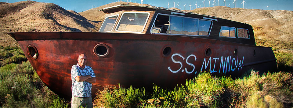 SS Minnow Tehachapi, California. Photo by Russ Thorne